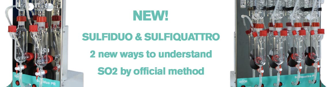 New Sulfiduo and Sufiquattro equipments for PAUL-Rankine method