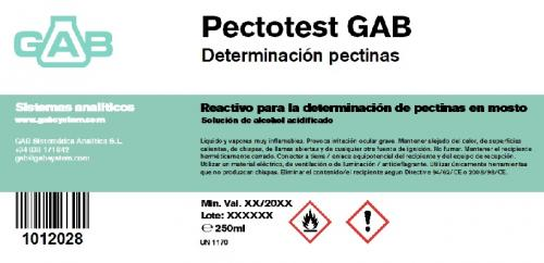 Uploaded new product: PECTOTEST GAB