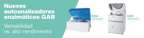 Subido nuevo producto: Autoanalizador G100 y G150