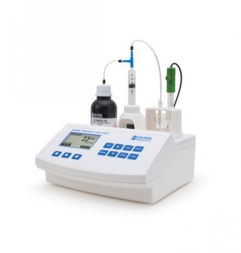 Subido nuevo producto: VALORADOR AUTOMATICO de ACIDEZ TOTAL y pH HANNA