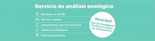 GAB Informa: Ampliación del servicio de análisis enológico
