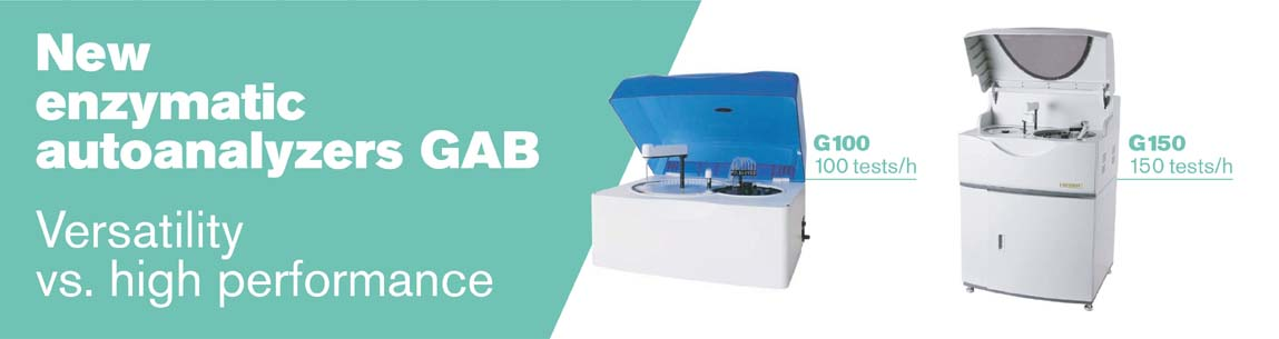 New enzymatic autoanalyzers GAB G100 and G150