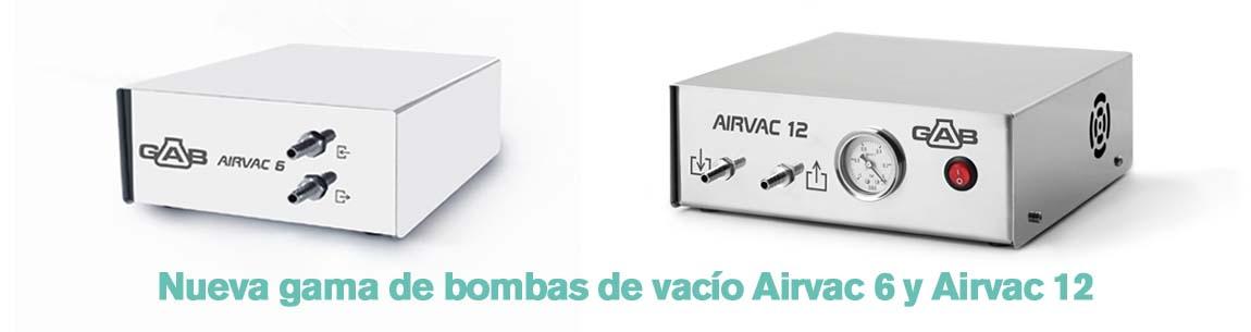 Bombas vacio Arivac GAB