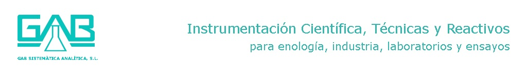 Instrumentaci�n cient�fica, t�cnicas y reactivos para enolog�a, industria, laboratorios y ensayos ...