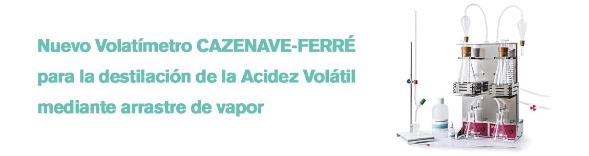 Nuevo Volatimetro Cazenave-Ferré GAB