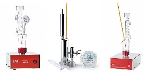 Ebulliometros GAB