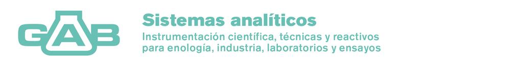 Instrumentación científica, técnicas y reactivos para enología, industria, laboratorios y ensayos ...