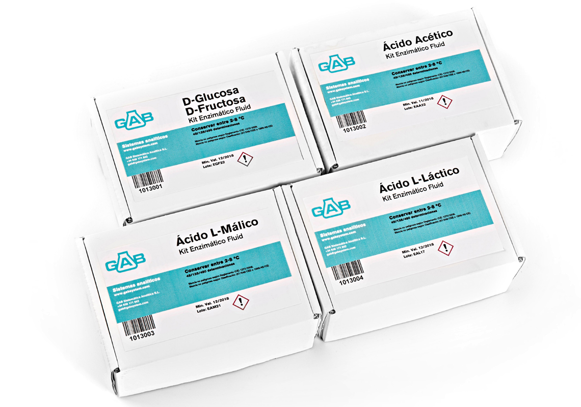 Kits enzimáticos GAB