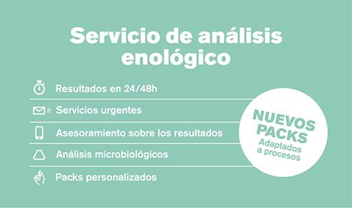 Servicio análisis enológico