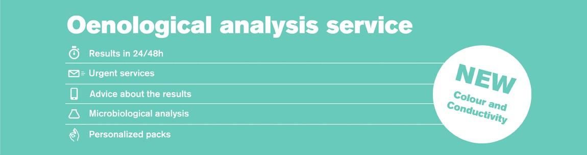 Analysis Service GAB. New parameters: Colors & Conductivity