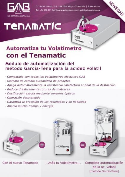 FLYER TENAMATIC - FLYER TENAMATIC