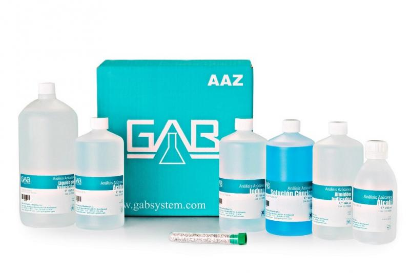 SUGAR ANALYSIS PACK AAZ GAB - SUGAR ANALYSIS PACK (REDUCING MATTERS - REBELEIN KIT) AAZ