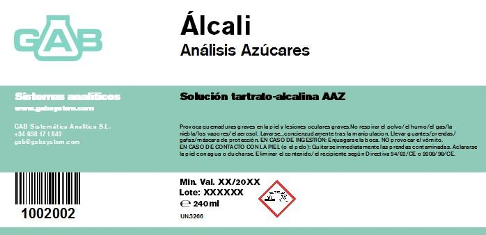 ANALISIS AZUCARES ALCALI