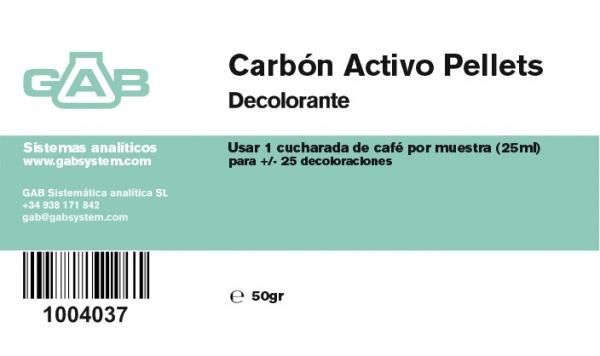 ACTIVE CARBON PELLETS - ACTIVE CARBON PELLETS 50gr