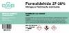 FORMALDEHIDO 37-38% GAB 250ml - FORMALDEHIDO 37-38% GAB 250ml