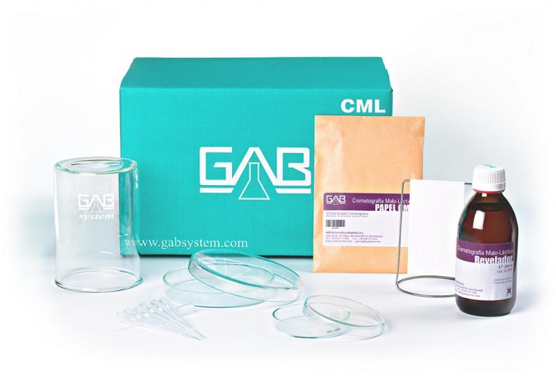 CHROMATOGRAPHY ML PACK (CML) - MALOLACTICAL CHROMATOGRAPHY PACK (MLC)