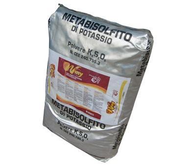 METABISULFITO POTASICO  1Kg - METABISULFITO POTASICO  1Kg