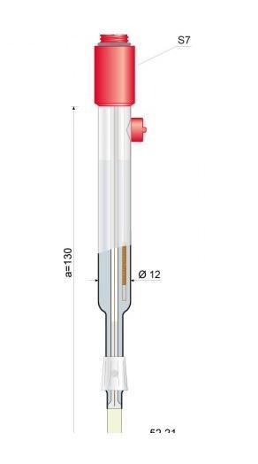 ELECTRODO pH para VINOS Y MOSTOS s/cable 52-21 - ELECTRODO pH para VINOS Y MOSTOS