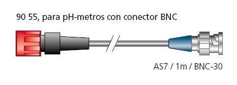 CABLE ELECTRODO BNC 9055