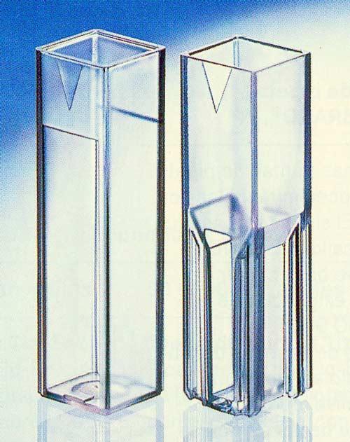 CUBETA ESPECTROFOTOMETRO SEMI-MICRO - CUBETA ESPECTROFOTOMETRO SEMI-MICRO, desechables
