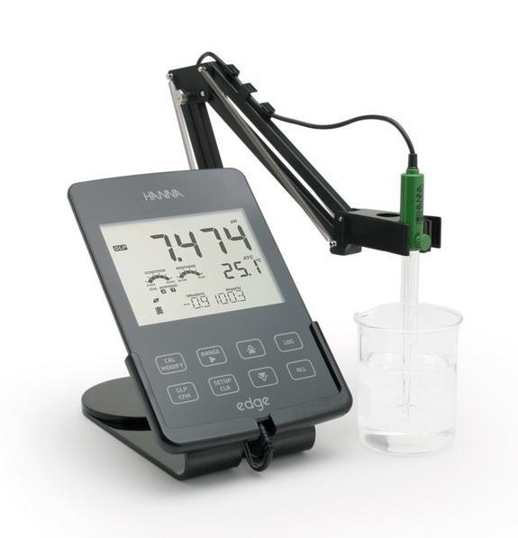 pH-CE-OD METRO EDGE con electrodo de pH - pH-CE-OD METRO de sobremesa EDGE con electrodo de pH