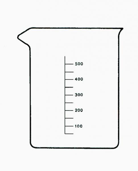 GRADUATED BEAKER 100ml low form - GRADUATED BEAKER 100ml low form