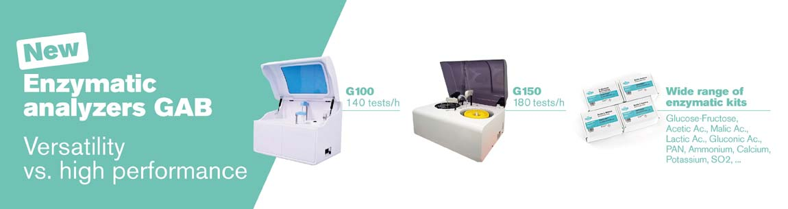 New enzymatic analyzers G100 and G150