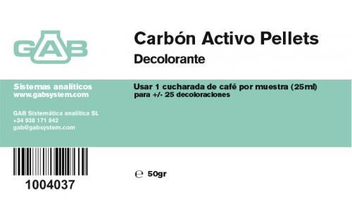 Subido nuevo producto: CARBON ACTIVO PELLETS