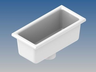 PORCELAIN BASIN 150x300 mm