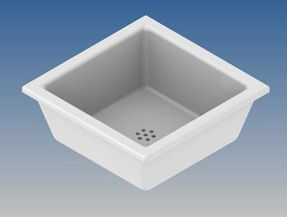 PORCELAIN BASIN 300x300 mm