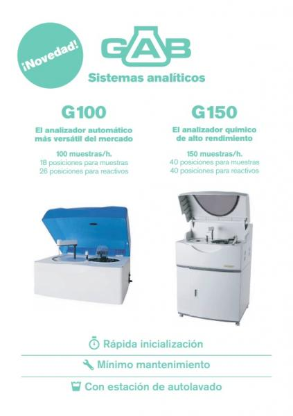 AUTOANALYZERS G100 and G150 FLYER