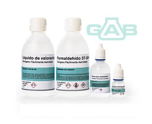 PACK ANALISIS NFA Nitrógeno Fácilmente Asimilable - PACK ANALISIS NFA Nitrógeno Fácilmente Asimilable