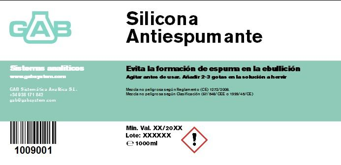 SILICONA ANTIESPUMANTE 1000 ml