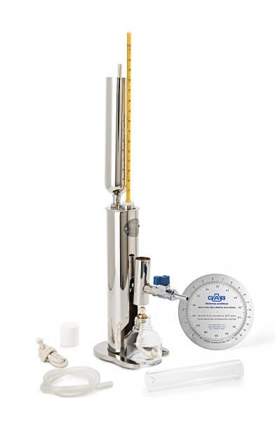 EBULLIOMETRO CLASICO a lamparilla de alcohol  -- Sin termómetro --