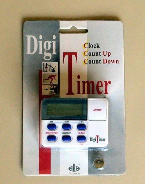 TIME COUNTER - ALARM TIMER