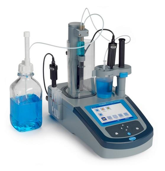 VALORADOR POTENCIOMETRICO serie TITRALAB AT1000, pH y AT; 1 bureta