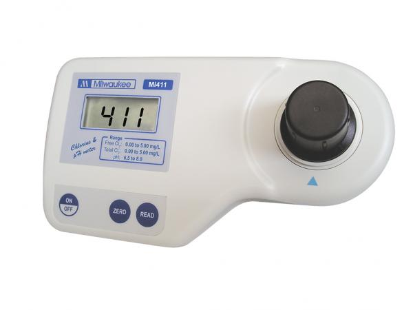FREE and TOTAL CHLORINE and pH PHOTOMETER MI411