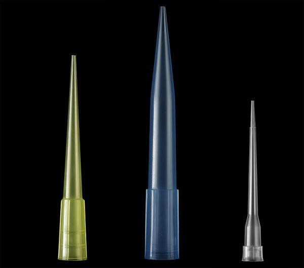 YELLOW MICROPIPETTE TIPS 10-100 uL