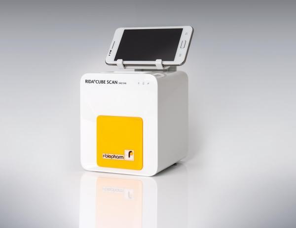 RIDA CUBE SCAN - El analizador inteligente